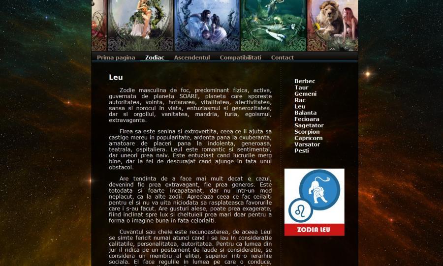 Atestat informatica Zodiac