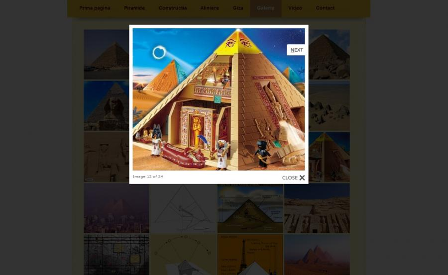 Atestat informatica Piramidele egiptene