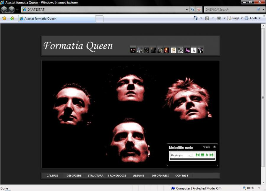 Atestat informatica Queen