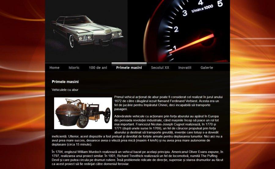 Atestat informatica Evolutia automobilului