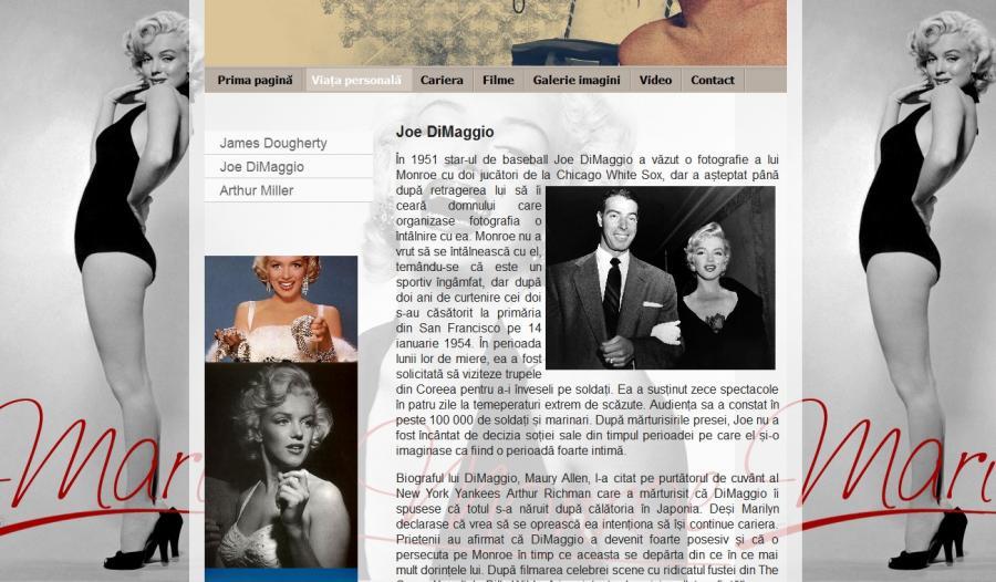 Atestat informatica Marilyn Monroe