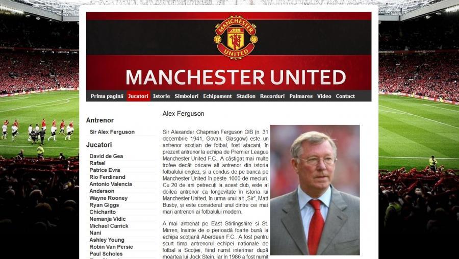 Atestat informatica Manchester United