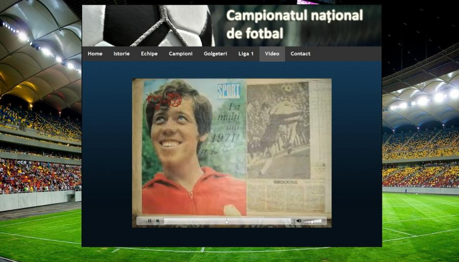 Atestat informatica Campionatul national de fotbal