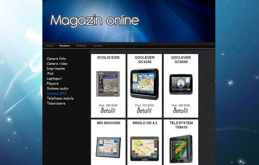 Atestat informatica Magazin electronice