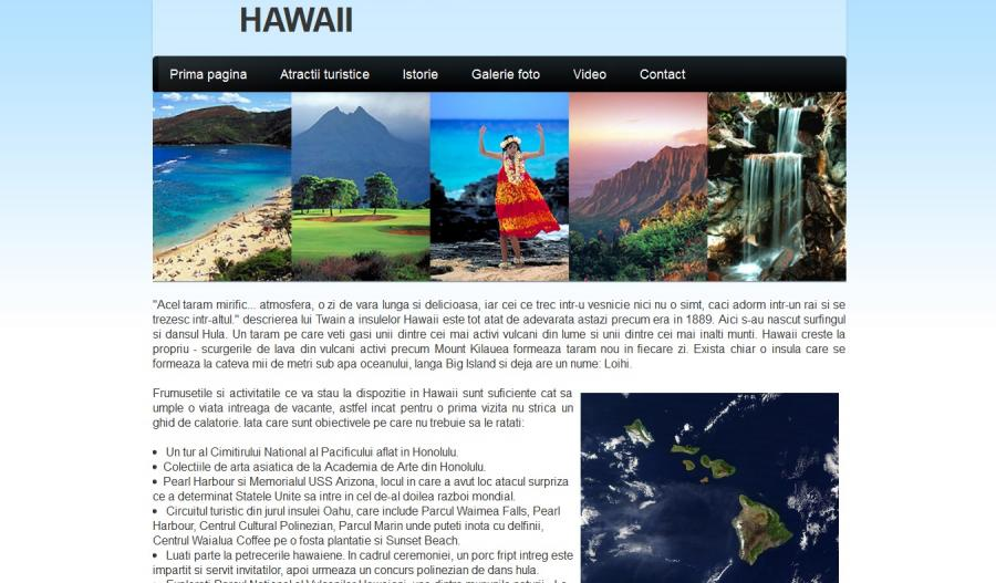 Atestat informatica Hawaii