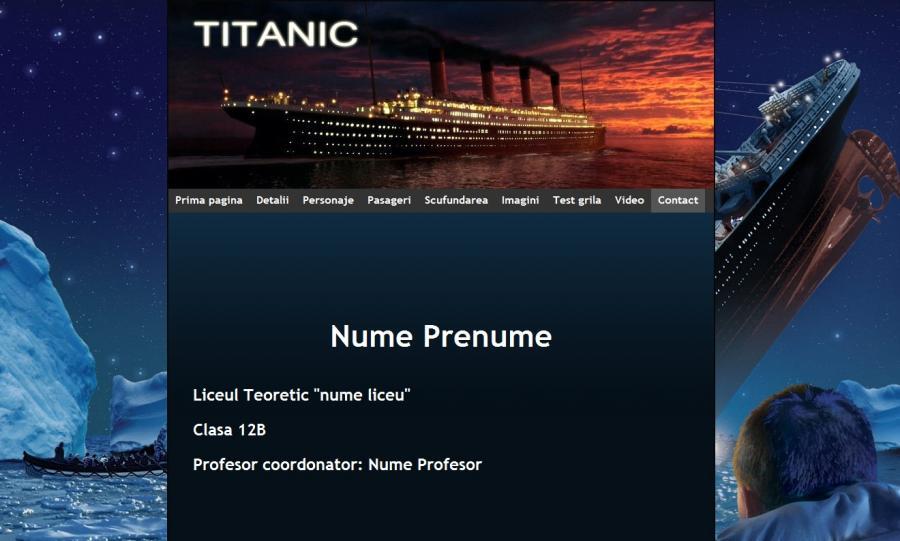 Atestat informatica Titanic