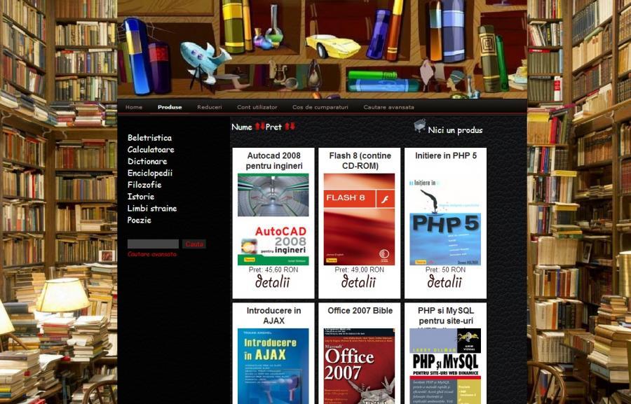 Atestat informatica Librarie online v2