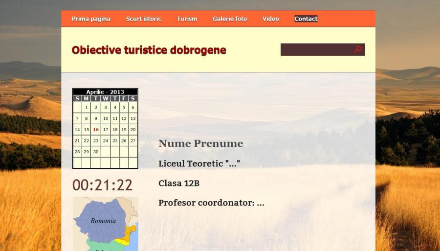 Atestat informatica Obiective turistice in Dobrogea