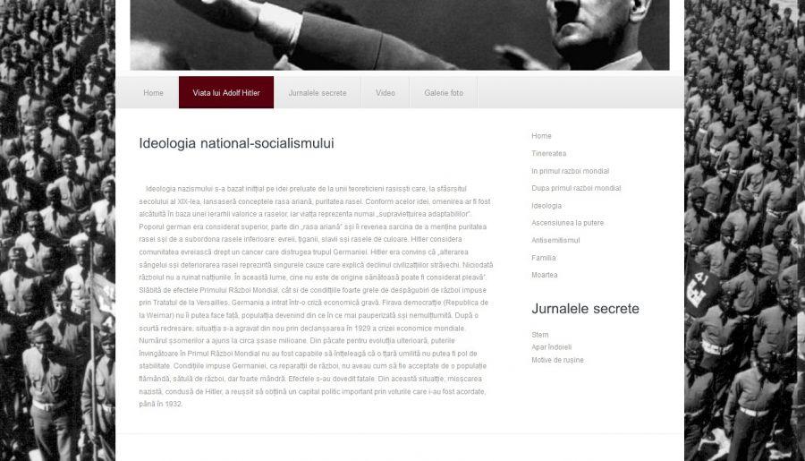 Atestat informatica Adolf Hitler