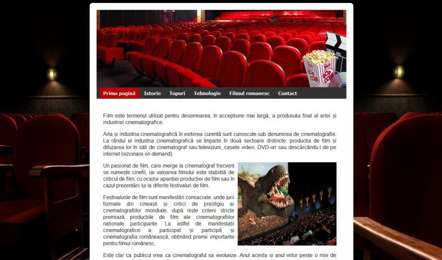 Atestat informatica Cinemateca
