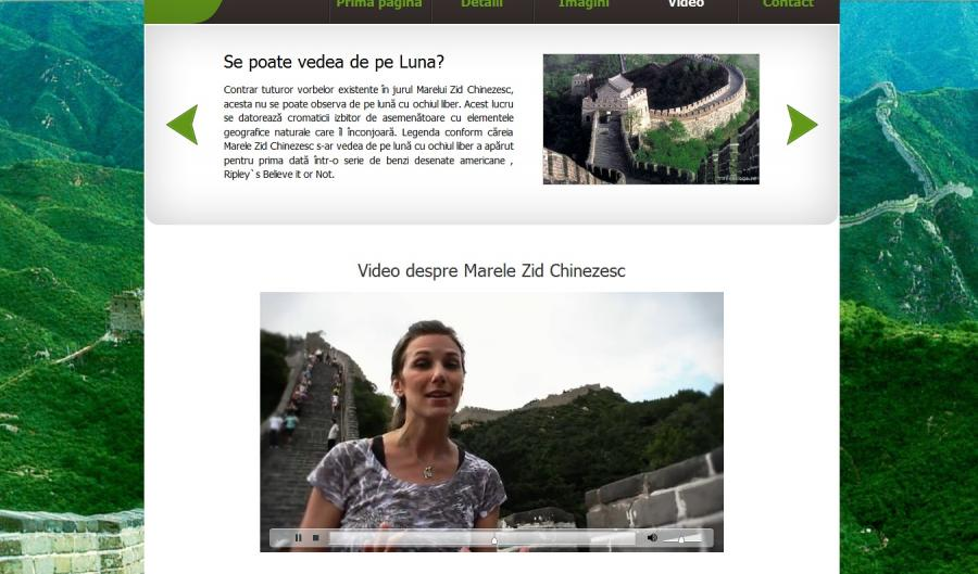 Atestat informatica Marele Zid Chinezesc