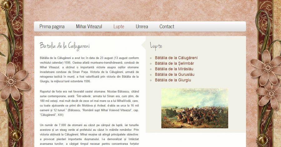 Atestat informatica Mihai Viteazul