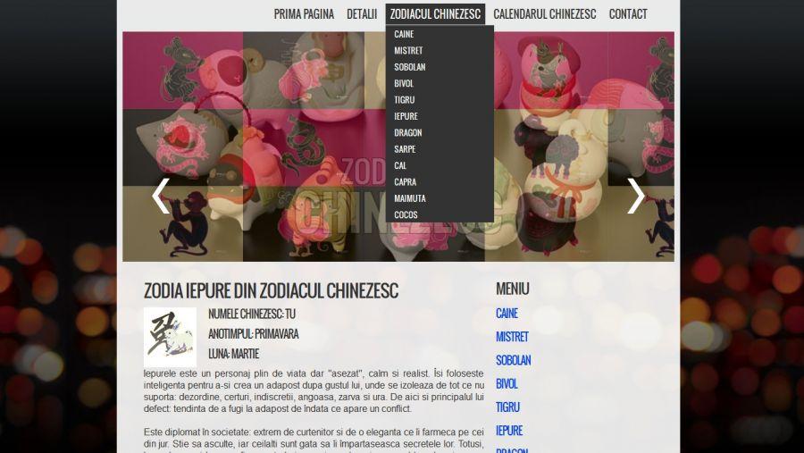 Atestat informatica Zodiacul Chinezesc