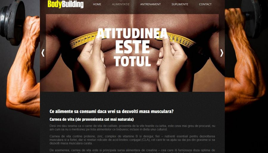 Atestat informatica Body Building