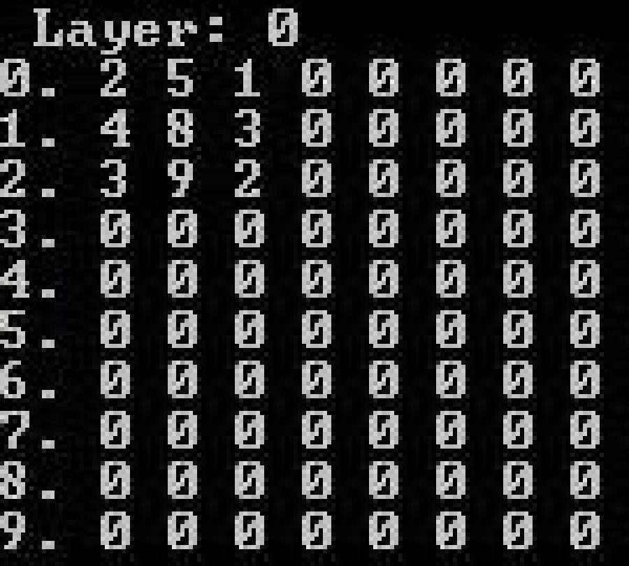 Atestat informatica Matrice 3D