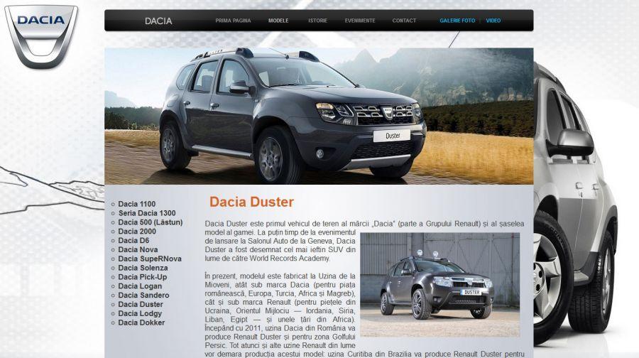 Atestat informatica Dacia