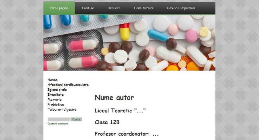 Atestat informatica Farmacie v2