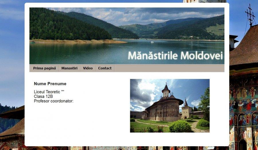 Atestat informatica Manastirile Moldovei