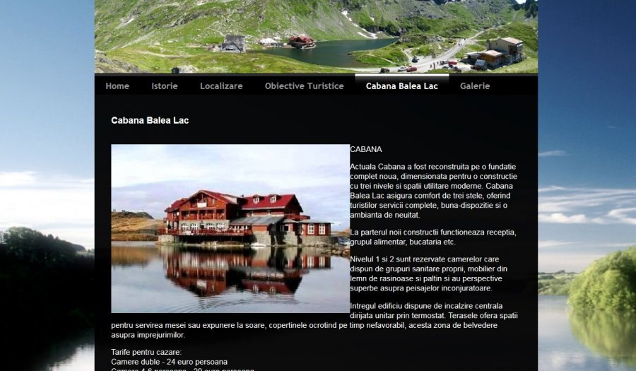 Atestat informatica Balea Lac