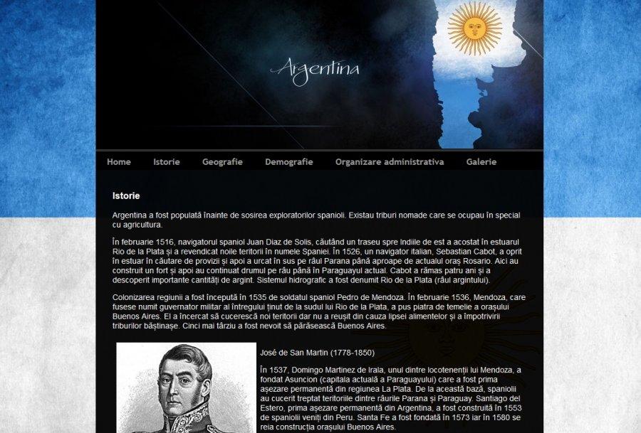 Atestat informatica Argentina