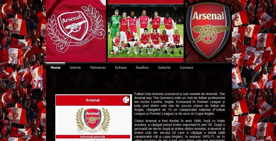 Atestat informatica Arsenal Londra