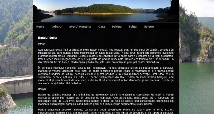 Atestat informatica Barajele din Romania