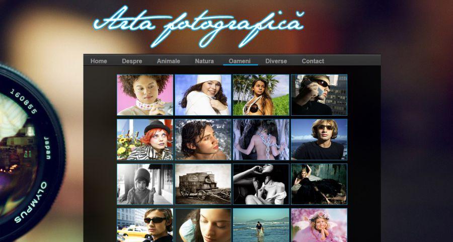 Atestat informatica Arta fotografica