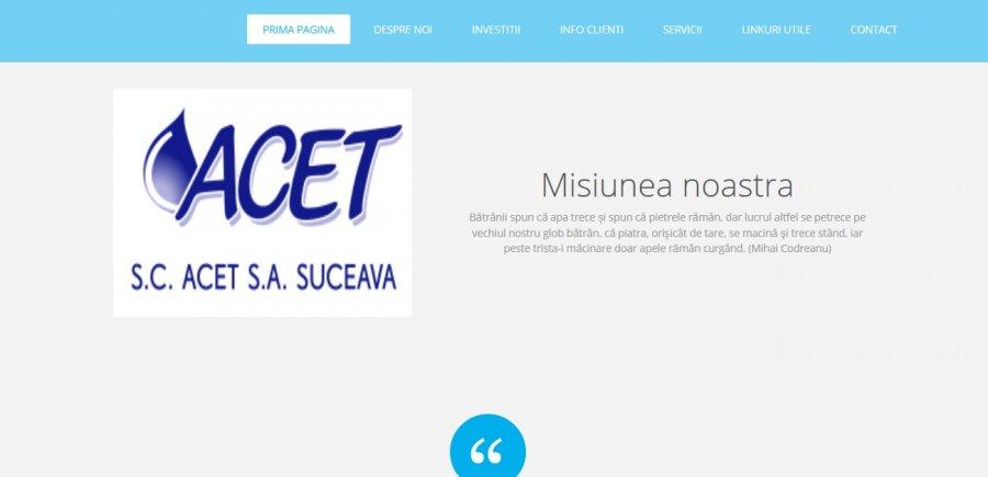 Atestat informatica SC ACET SA Suceava