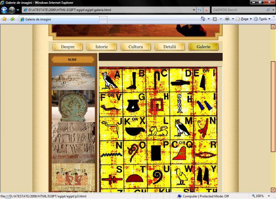 Atestat informatica Egiptul