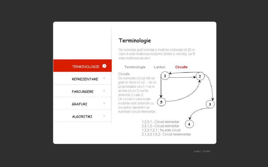 Atestat informatica Grafuri orientate 2
