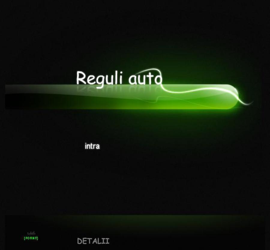 Atestat informatica Reguli auto