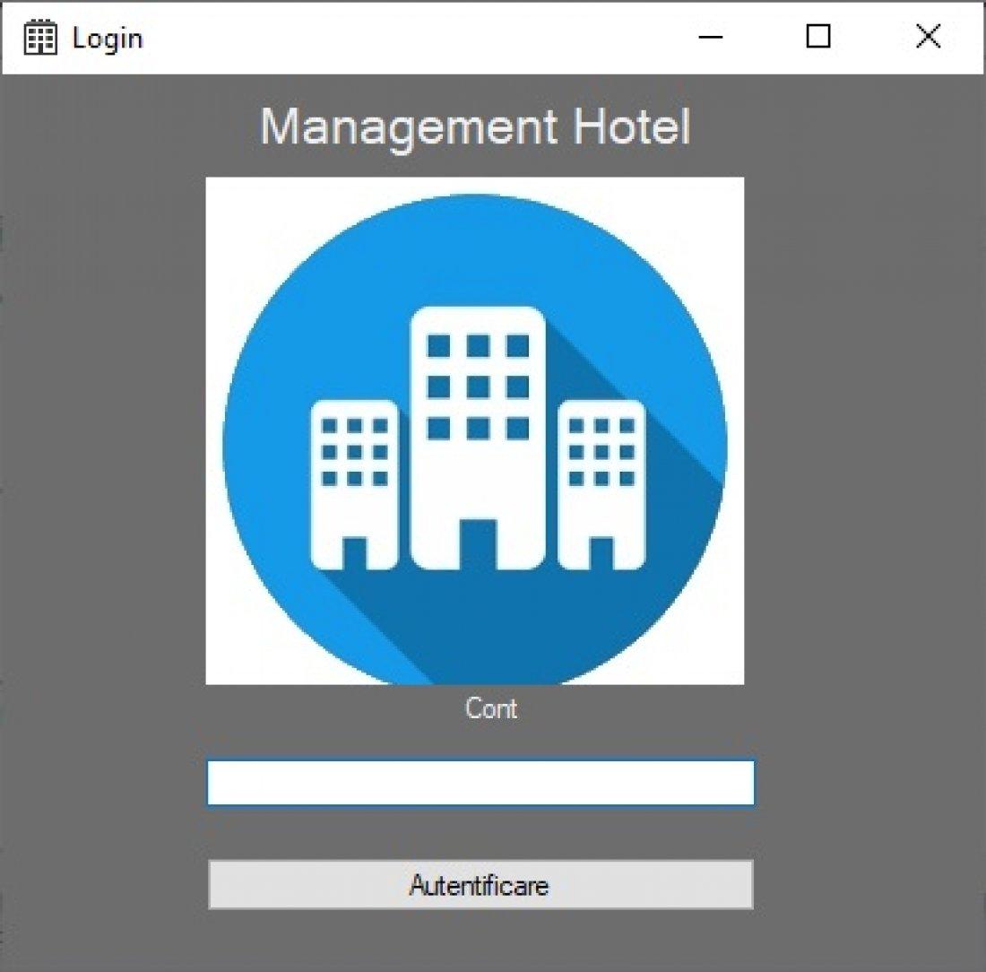 Atestat informatica Administrare hotel