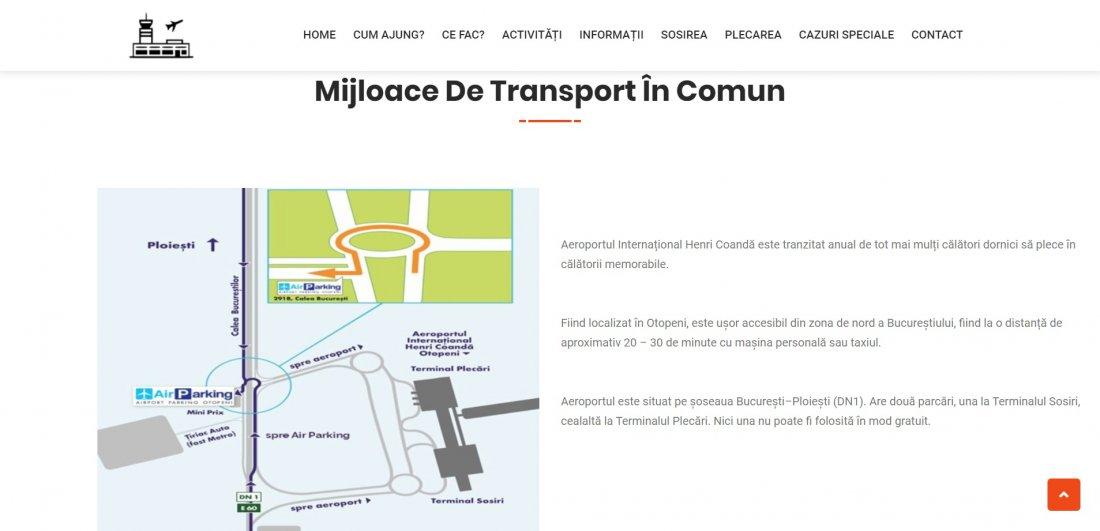 Atestat informatica Aeroportul International Henri Coanda