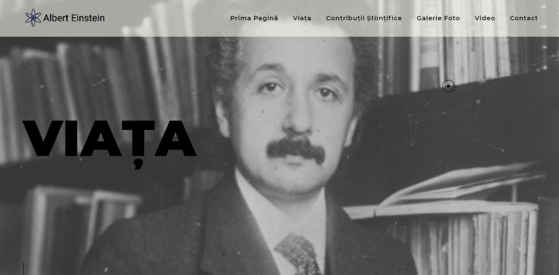 Atestat informatica Albert Einstein