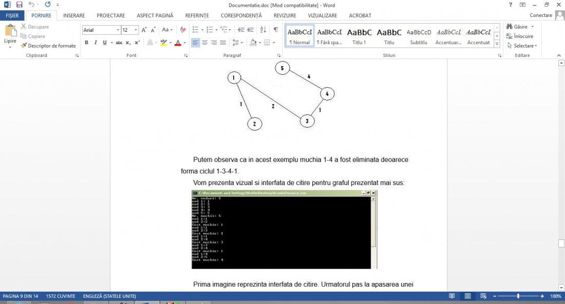 Atestat informatica Algoritmul lui Kruskal