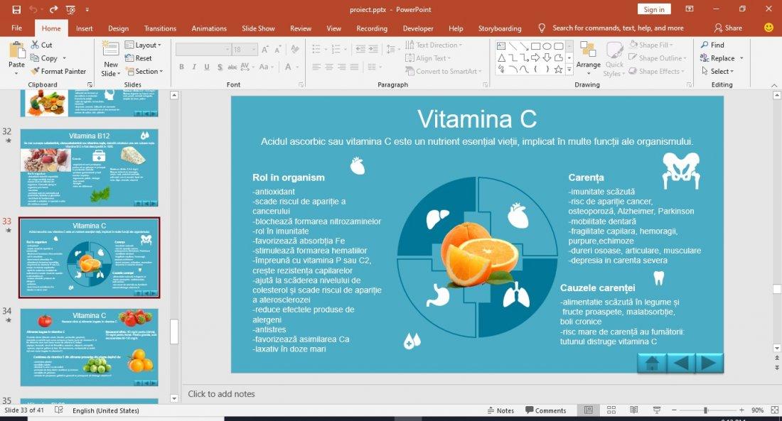Atestat informatica Analgezice si vitamine