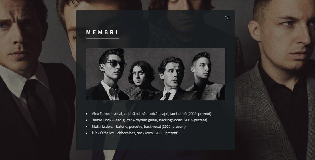 Atestat informatica Arctic Monkeys