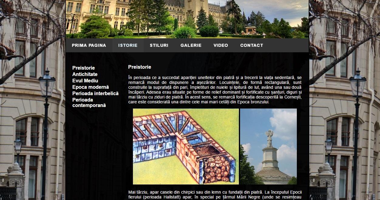 Atestat informatica Arhitectura in Romania