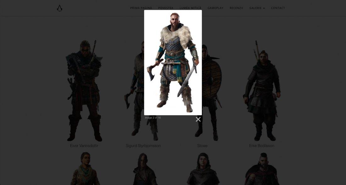 Atestat informatica Assassins Creed Valhalla