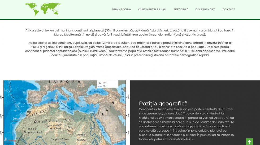 Atestat informatica Atlas geografic
