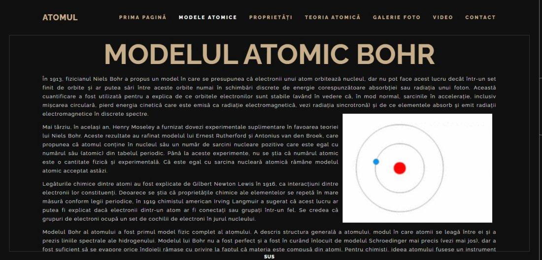 Atestat informatica Atomul