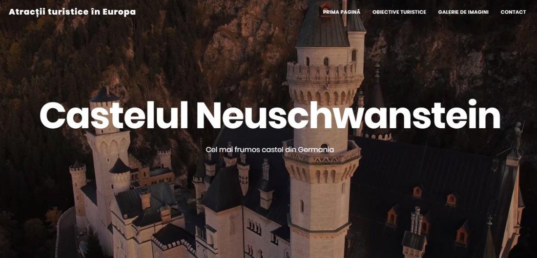 Atestat informatica Atractii turistice in Europa