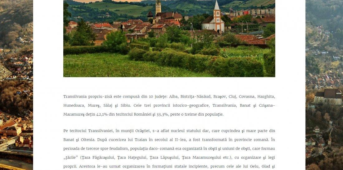Atestat informatica Atractii turistice in Transilvania