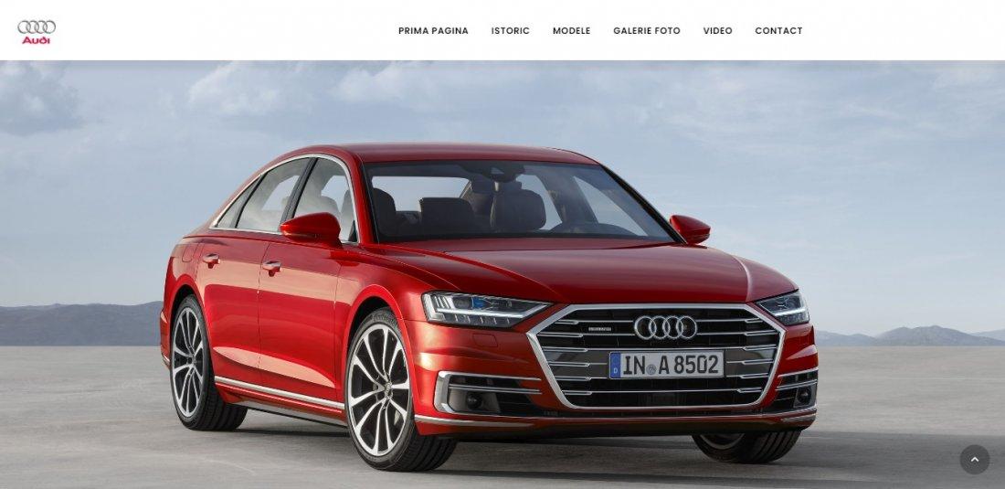Atestat informatica Audi