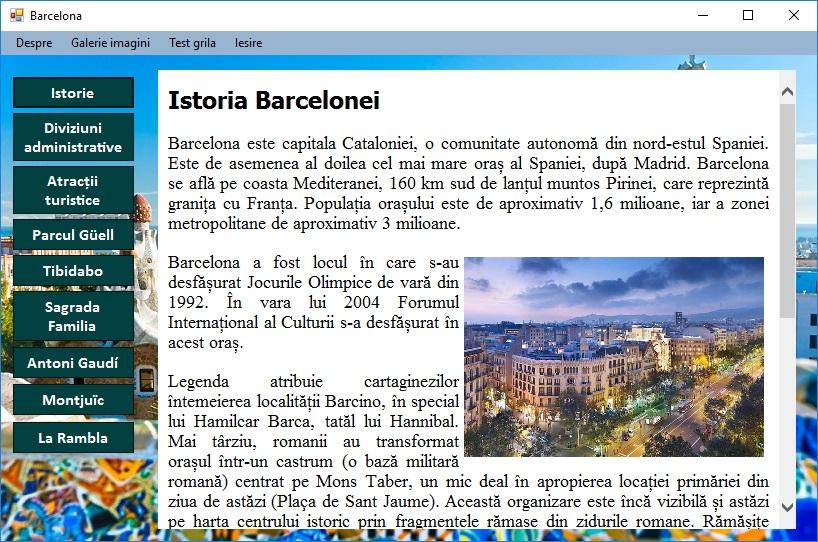 Atestat informatica Barcelona