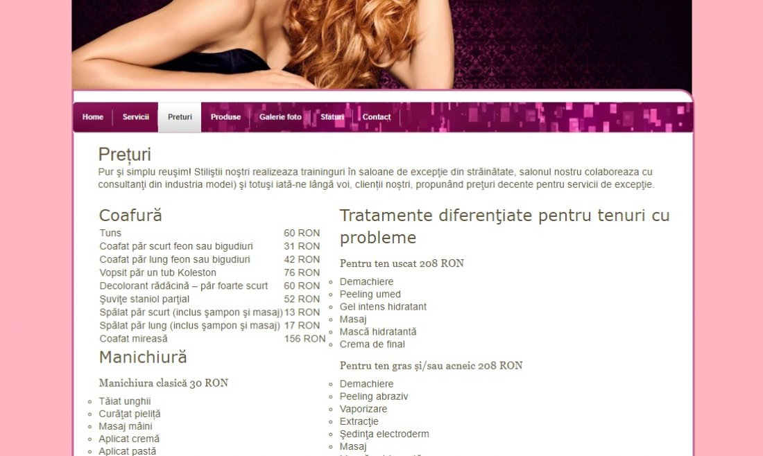 Atestat informatica Beauty and spa