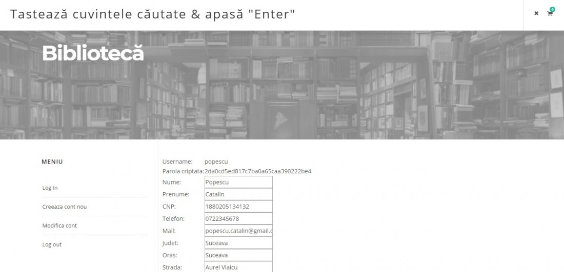Atestat informatica Biblioteca