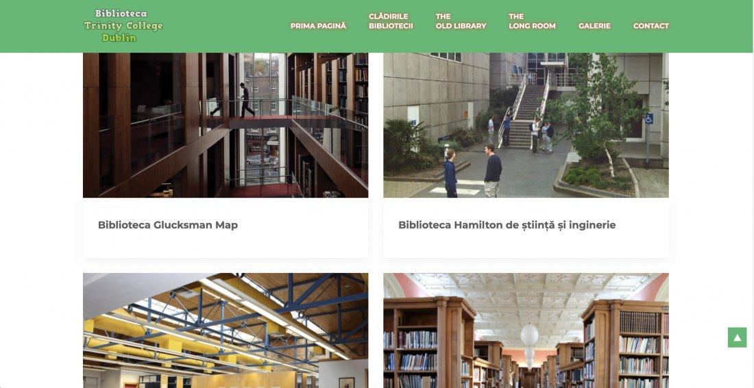 Atestat informatica Biblioteca Trinity College Dublin