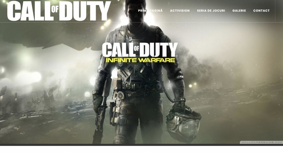 Atestat informatica Call of Duty