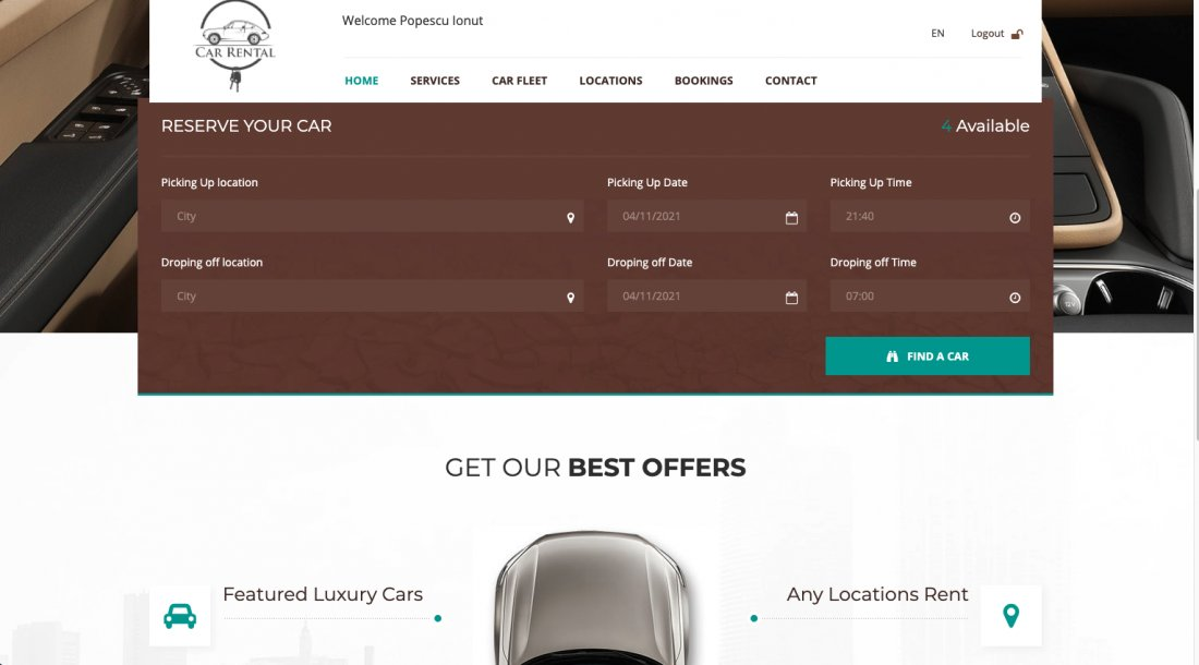 Atestat informatica Car rental